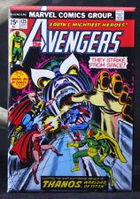 """The Avengers #125 Comic Book Cover 2"""" X 3"""" Fridge / Locker Magnet. Thanos"""