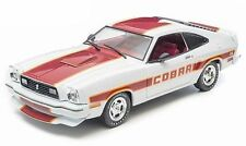 1:18 Greenlight  - 1978 Ford Mustang Cobra II ~ white with red trim