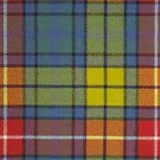 100% Wool Scottish Antique Buchanan Tartan Knee Rug/Blanket
