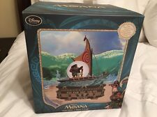 Walt Disney World Moana Maui Musical Lighted We Know the Way Snowglobe New