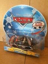 DISNEY CARS DIECAST - Nitroade No. 28 With Changing Eyes - Christmas Packaging