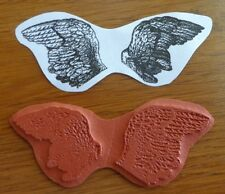 Teesha Moore Zetti FLY AWAY WINGS IN SEARCH OF AN ODDLING Unmount Rubber Stamp