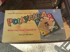 vintage 1952 POLLYANNA track pursuit game by PARKER BROTHERS complete