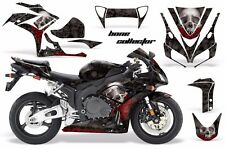 AMR Racing Graphic Kit Wrap Part Honda CBR1000 RR Street Bike 2006-2007 BONES BK