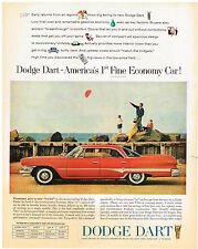 Vintage 1960 Magazine Ad For Dodge Dart 1st Fine Economy Car / Armour Star Hash