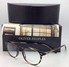 New OLIVER PEOPLES Eyeglasses RILEY R COCO OV 5004 1003 47-20 Cocobolo Tortoise