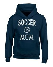 Soccer Mom Mother Hoodies Team Supporter Goal Football Sweatshirts