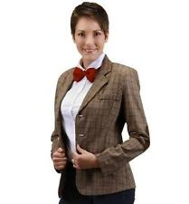 11th DOCTOR WHO Licensed WOMAN L/XL Tweed JACKET Costume Prop REPLICA Matt Smith