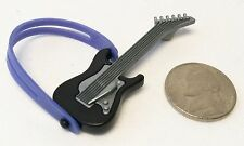 Playmobil Popstar Musician Band Black Electric Guitar 5605