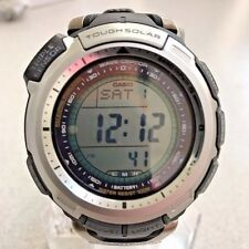 Casio Pro Trek Mens Resin Band Solar Power Pathfinder Wrist Watch - PAW1300-1V