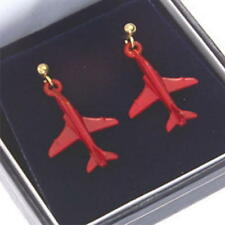 Red Arrows Enamel Earrings