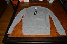 NWT Men's TRUE RELIGION EMBOSSED LOGO DOUBLE KNIT RIB PULLOVER 2XL SWEATSHIRT