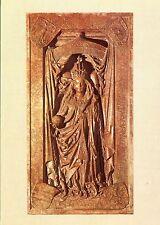 Alte Kunstpostkarte - Marmorplatte des Hochgrabes der Kaiserin Eleonore