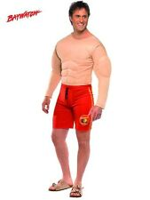 Mens Officially Licensed Baywatch Lifeguard Fancy Dress Costume by Smiffys New