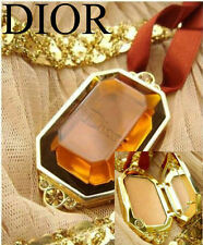 100% AUTHENTIC RARE Edition GOLDEN DIOR BRONZE HIGHLIGHTER Makeup JEWEL Necklace