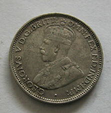BRITISH WEST AFRICA - SCARCE SILVER 6 PENCE 1920H - KM # 11A