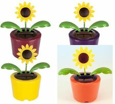 Solar Powered Dancing Sunflowers - (Set of 2 Random Colors) Gifts, Favors NEW