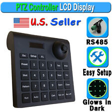 CCTV Speed Dome Security Camera 3D Keyboard Controller LCD PTZ 3 Axis Joystick