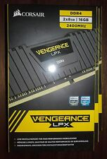 Corsair Vengeance LPX 16GB (2 X 8 GB 2400MHz DDR 4 Brand New Sealed