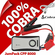 Cobra CPP 8000 JumPack Car Motorbike Jump Starter Powerbank 6000mA Phone Charger