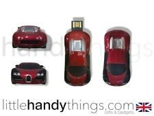 SUPERCAR BUGATTI 8GB USB FLASH DRIVE PORTATILE PEN DRIVE MEMORIA / STICK Gift
