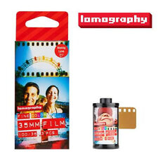 Lomography LOMO 135 Color Negative Film (ISO 100) for Diana mini Fisheye LCA x 3