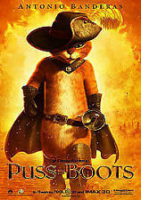 Puss In Boots (Blu-ray and DVD Combo, 2012)