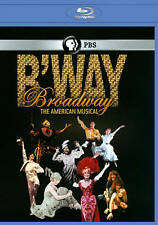 Broadway: The American Musical [Blu-ray], New DVD-Factory Sealed w/Free Shipping