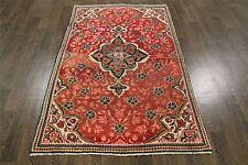 VINTAGE Tradizionale Persiano Lana 3.6 x 5.7 realizzata a mano TAPPETI Oriental Rug Carpet