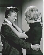 Angela Douglas Signed 8x10 Photo - Depicted with Tommy Steele - G820