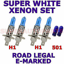 FITS CHEVROLET EPICA 2006-ON    SET H1  H1  501 XENON SUPER WHITE  LIGHT BULBS