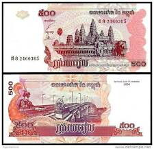 Cambodia - 500 riels - UNC currency note - 2004 issue