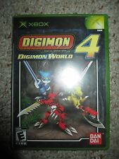 Digimon World 4  (Microsoft Xbox, 2005) NEW Sealed