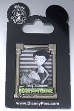 Disney Pin✿Frankenweenie Victor Sparky Framed Dog Tim Burton Film Friends Pet
