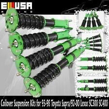 Coilover Suspension Lowering Kits Green for 92-00 Lexus SC300 SC400 93-98 Supra