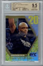 Anderson Silva 2009 Topps UFC Victorious Debut #11/88 BGS 9.5 Gem His Best Card?