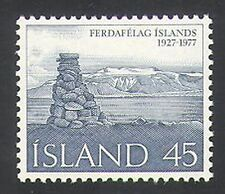 Iceland 1977 Tourism/Cairn/Glacier/Mountains 1v (n34936)