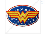 Wonder Woman embroidery patch SIZE: 3.8 inches x 2.6 inches  ( 1 patch) Iron On