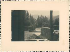 France, Ville-Vieille, dans le Haut-Queyras  Vintage silver print Tirage arg