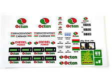 STICKERS for CUSTOM LEGO 6375 6397 7993 Octan Service Gas Station BUILDS, Etc
