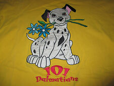 Vintage Disney 101 DALMATIONS Embroidered Puffy (MED) T-Shirt