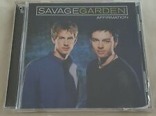 SAVAGE GARDEN AFFIRMATION CD EUC ANIMAL  SONG HOLD ME CRASH N BURN