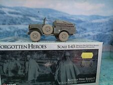 1/43 CORGI WEAPONS CARRIER WC51 3/4 TON KOREAN WAR  #51703