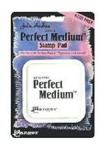 "Ranger PERFECT MEDIUM Ink Pad CLEAR 3 x 3"" PPP16205 Embossing Water Mark Resist"