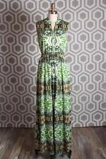 NWT Alice & Olivia Marianna Mixed Print Dress 2 Abstract Garden $550