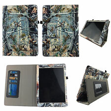 CAMO PINETREE FOLIO CASE IPAD 2/3/4 SLIM FIT POCKET TABLET STAND COVER