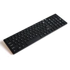 2.4G Wireless Keyboard and Mouse USB Receiver Kit For PC Black