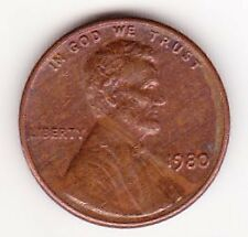 United States of America One Cent Coin 1980