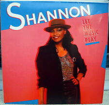 """Shannon """"Let The Music Play"""" RARE 1984 Electro Boogie LP"""