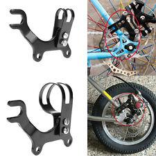 Neu Verstellbar Fahrrad Scheibenbremse Bügel Rahmen Adapter Montage Metall 32mm